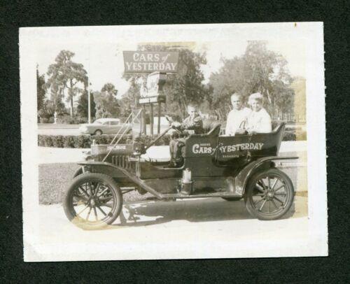 Vintage Polaroid Photo Model T Ford Cars of Yesterday Museum Sarasota FL 426075