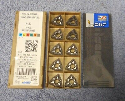 Iscar  Carbide Inserts  Wnmg 432 -nr Grade Ic8250  Pack Of 10