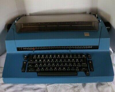 Ibm Correcting Selectric Ii Typewriter - Blue