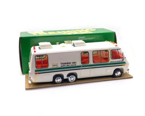 HESS TRAINING VAN- Hess Trucks Vintage Toys Gas New jersey Free Shipping