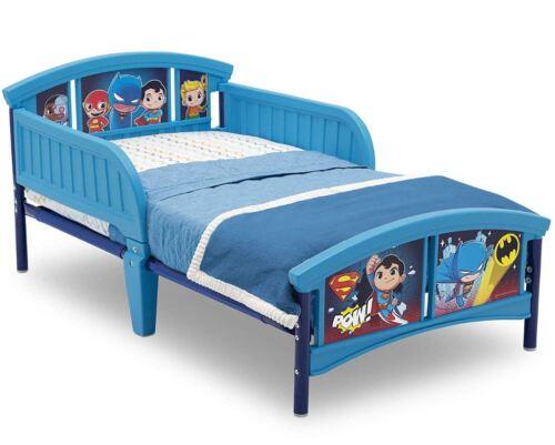 DC Super Friends Batman Superman Flash Toddler Beds For Todd