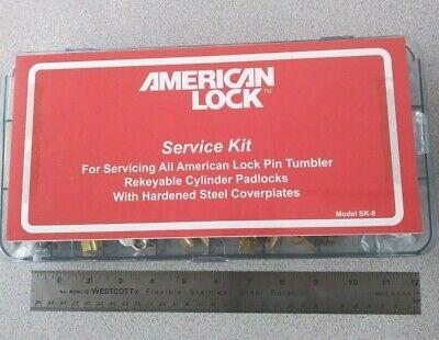 American Lock Padlock Service Pin Kit Re-keying Locksmith Pinning Tool
