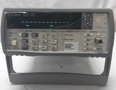 Hpagilent53181a Rf Frequency Counter 10 Digitss