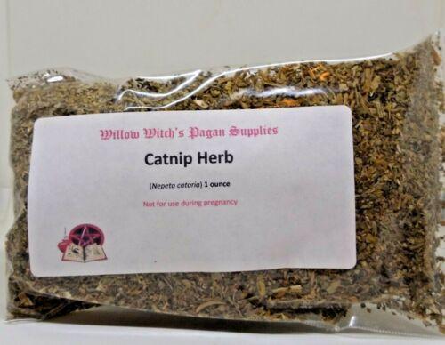 Catnip Herb 1 oz Catmint Catnep Wicca Witchcraft Hoodoo Voodoo Pagan Cat Magic