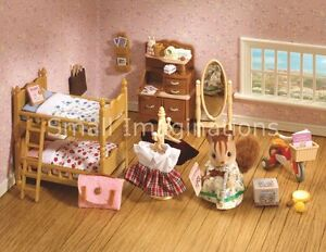 Childrens Furniture Collection 4623 - Sylvanian Families Beds Dressing Table etc