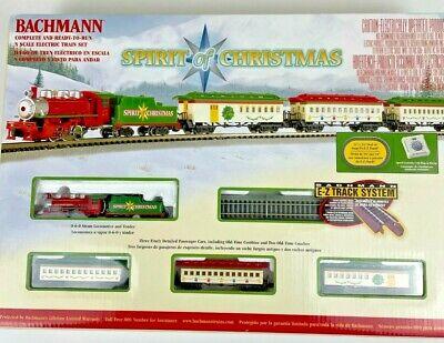 Bachmann Trains Spirit of Christmas N-Scale Train Set - Complete & Ready to Run