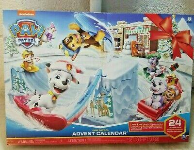 Paw Patrol Advent Calendar Fast Shipping