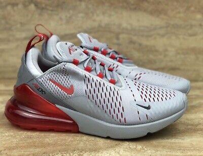 Nike Air Max 270 Running Shoes Wolf Grey University Mens Sneakers