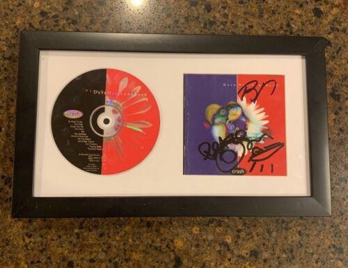 * DAVE MATTHEWS BAND * signed framed CD * CRASH * BOYD TINSLEY TIM REYNOLDS * 1