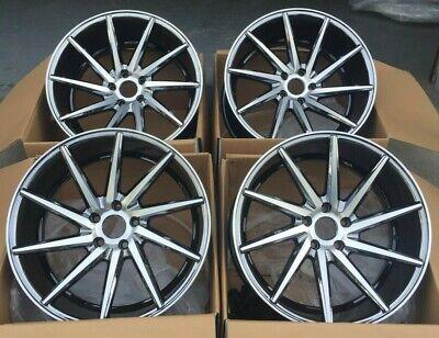 20 x 10 Car Wheels Fits Honda Toyota PCD 5x114.3 ET 35 CB 73.1 Set 4