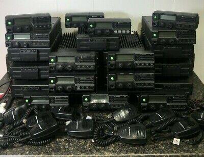 Motorola Pm1200 Low Band 37-50mhz Lot Of Radios And Accessories Free Shipping
