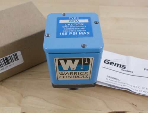 "Warrick 3E1A Cast Iron Liquid Level Sensor Single Probe, 1"" NPT Male"