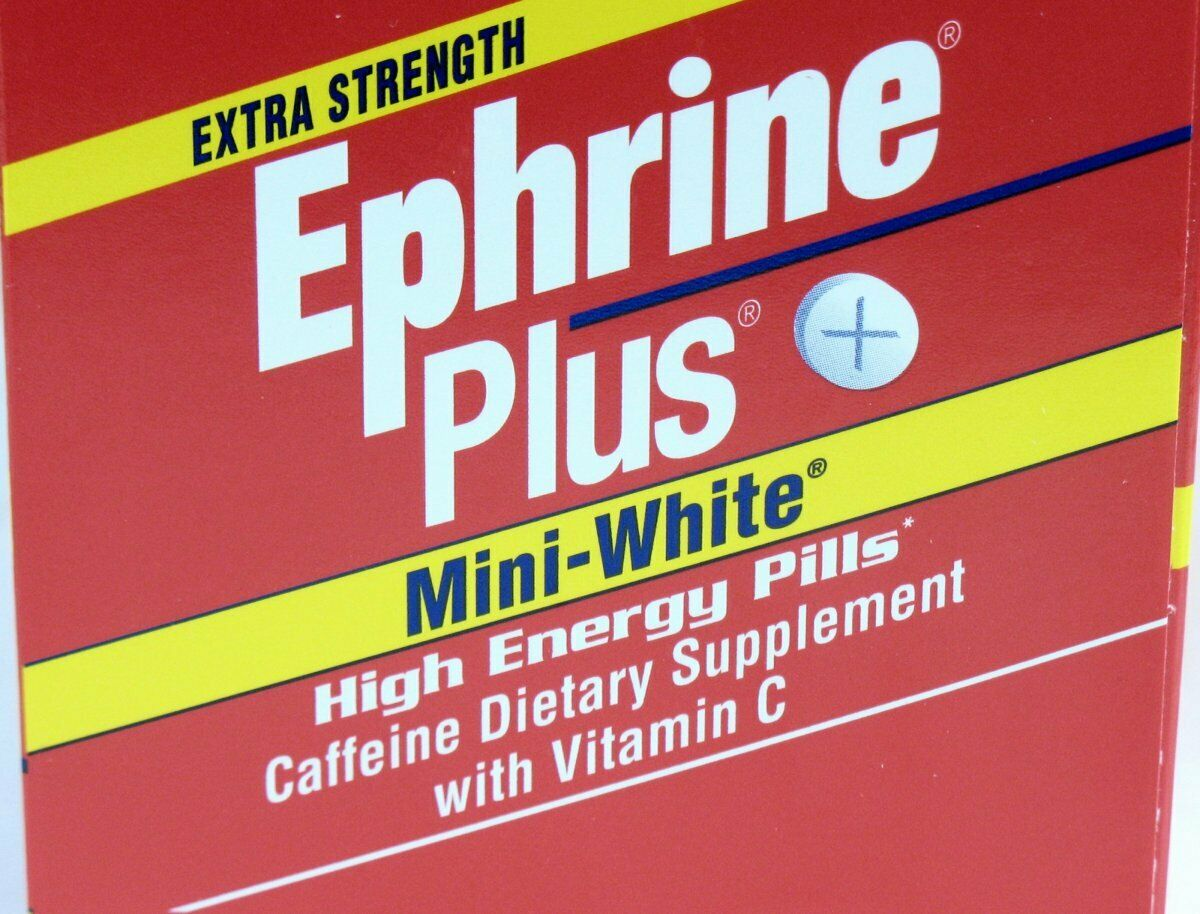 Ephrine Plus - High Energy Stimulant - Fatigue - Wakefulness 72 tabs