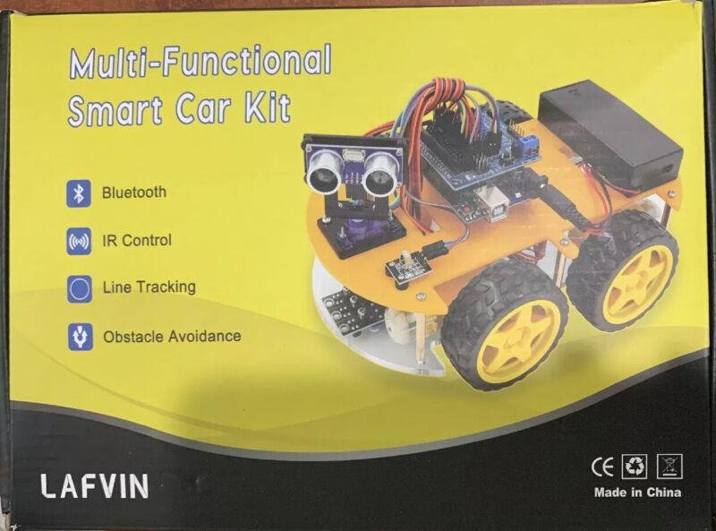 LAFVIN Multi-functional Smart Robot Car Kit for UNO R3