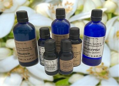 Essential Natural - Essential Oils Undiluted 100% Pure & Natural up to 8 oz..Free shipping! 5-10%0ff