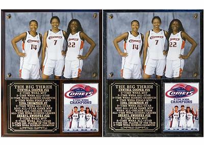 8ae749c72fd Cynthia Cooper Tina Thompson Sheryl Swoopes WNBA Champions Photo Plaque   Discount Swoopes Cynthia Photo Plaque Cooper Thompson