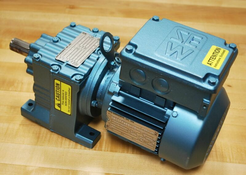 Sew Eurodrive R27DT71C4TH Non Vented Gear Reducer with TEFC 3PH drive Motor