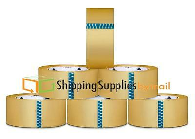 576 Rolls Carton Sealing Clear Packing Shipping Box Tape 3