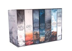 A-Game-of-Thrones-Song-of-Ice-and-Fire-7-Volume-Book-Set-George-R-R-Martin-New