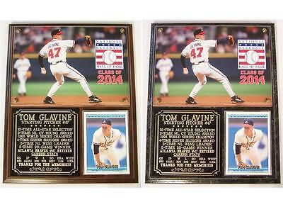 - Tom Glavine Atlanta Braves 2014 Hall of Fame Induction Photo Plaque