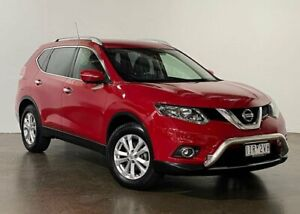 2015 Nissan X-Trail T32 ST-L X-tronic 2WD Red 7 Speed Constant Variable Wagon South Melbourne Port Phillip Preview