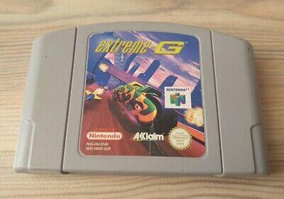 Nintendo 64 n64 Spiel extreme G 1 Kult gut 100 % ORIGINAL Racer Multiplayer