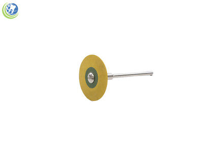Dental Lab Rubber Diamond Impregnated Mounted Wheel For Zirconia Porcelain Metal