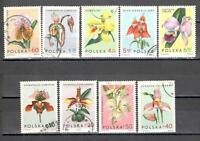 R9063 - Polonia 1965 - Serie Completa Orchidee - Vedi Foto -  - ebay.it