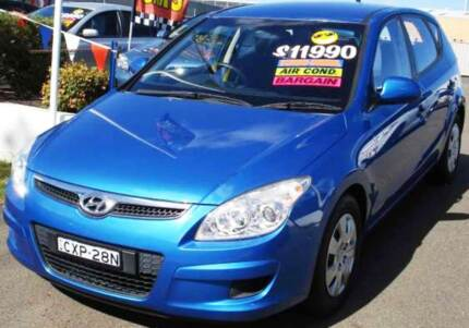 2008 Hyundai i30 Hatchback Armidale City Preview