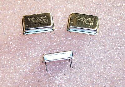 Qty 25 20 Mhz Full Size Oscillators 3.3v Tri-state Lvcmos Nth060a-20.0000m