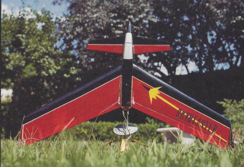 Sky Blaster Estes Rocket Plane or Slope Soaring Plans,Templates,Instruction 34ws