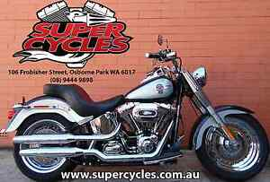 2012 HARLEY-DAVIDSON FLSTF SOFTAIL FATBOY Osborne Park Stirling Area Preview
