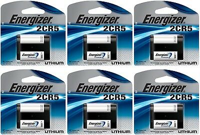 2cr5 Lithium Camera Battery - 6 Energizer 2CR5 Lithium Camera Photo 6V Batteries
