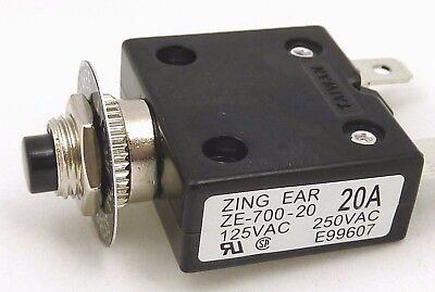 Push Button Reset Circuit Breaker 3A 4A 5A 10A 12A 15A 20A 30A 35A 40A 45A 50A