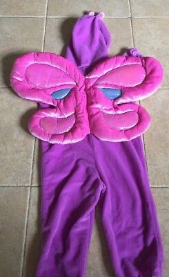 Halloween Costume for a girl purple-pink 1 Piece  18 Months butterfly  (Halloween Costumes For 18 Months)