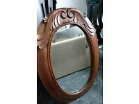 Lovely vintage carved mirror