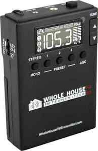 Whole-House-FM-Transmitter-2-0-for-Home-Stereo-TV-Audio-Car-MP3-Radio-PC