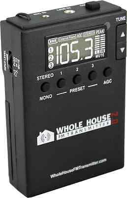 Whole House FM Transmitter 2.0 for Home Stereo, TV Audio, Car, MP3, Radio, PC