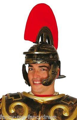 Erwachsene Herren Römisch Warrior Spartaner Gladiator Kostüm Kleid Outfit Hut