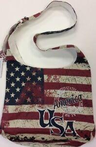 USA New Robin Ruth Cross Body Sling Tote Bag