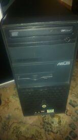 ASUS PC COMPUTER CD WRITER, XP PRO + UPDATED, 40GB HDD, 6 X USB, PENTIUM 2.66GHZ CPU, 512MB