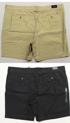Navy Blue Classic Shorts (Men's Big & Tall Tommy Hilfiger Classic Fit Chino Shorts - Khaki or Navy Blue)