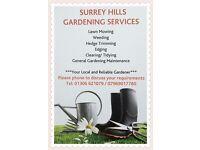 Surrey Hills Gardening Services