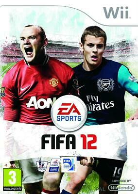 Fifa 12 Wii Nintendo jeu foot football  jeux spellen voetbal spelletjes 2732