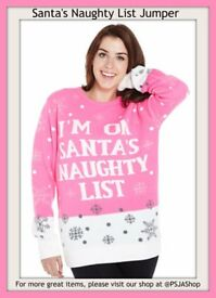 Santa's Naughty List Jumper