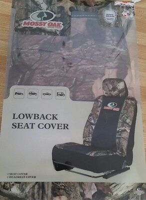- Mossy Oak Lowback Car Seat Cover. New.            (59)