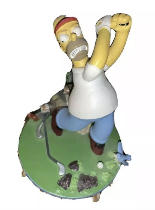 Hamilton Collection The Simpsons The Big Duffer