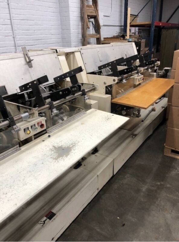 HARRIS MACY SADDLE BINDER ll, STITCHER 5562, AND TRIMMER - PREOWNED