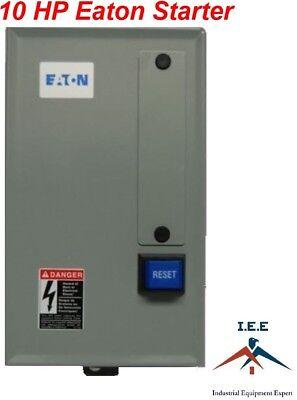 Eaton 10 Hp Single 1 Phase 230v Magnetic Starter B27cgf45b057 Motor Control New