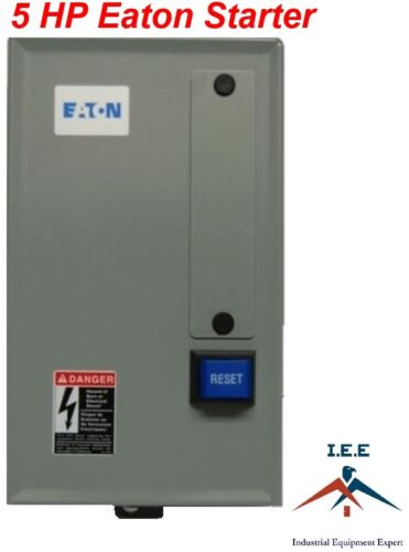 EATON MAGNETIC MOTOR STARTER 5 HP 230V SINGLE PHASE AIR COMPRESSOR PARTS
